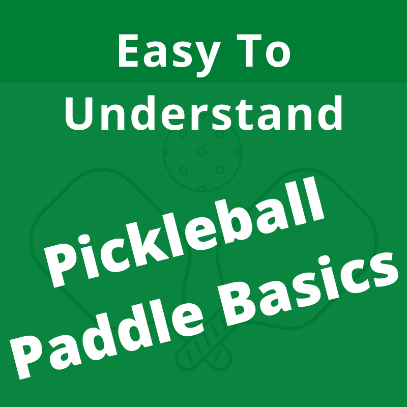 how to choose a pickleball paddle